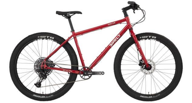 surly bridge club bike maroon BK2237 touring